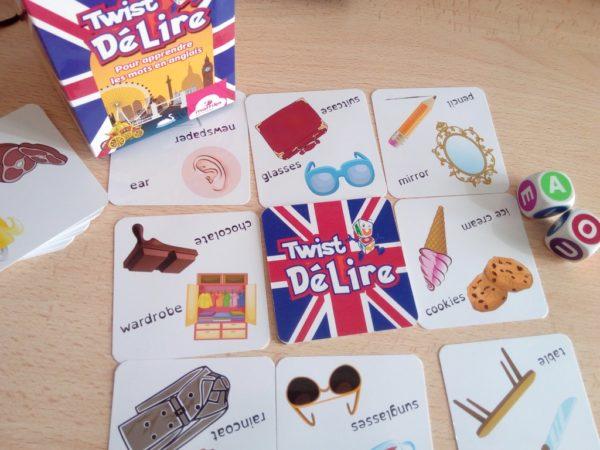 Twist Délire : un jeu progressif pour apprendre des mots en anglais