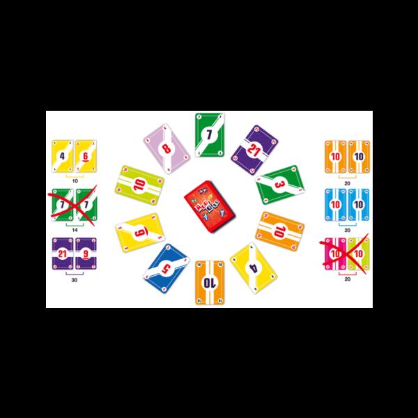 jeu addition addigolo cartes